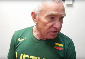 Juozukas atskleidė, kodėl buvo lengva masažuoti legendinį krepšininką A.Sabonį