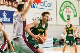 Baltijos taurės turnyre jauniai iškovojo antrąją pergalę