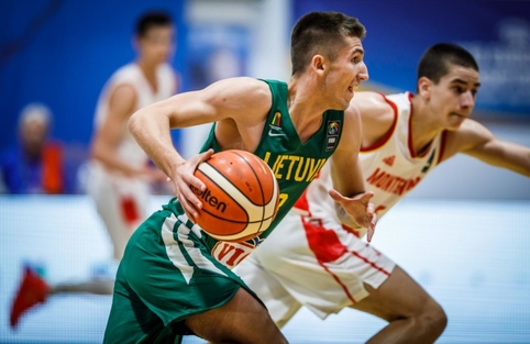 U-18: Lietuva - Juodkalnija