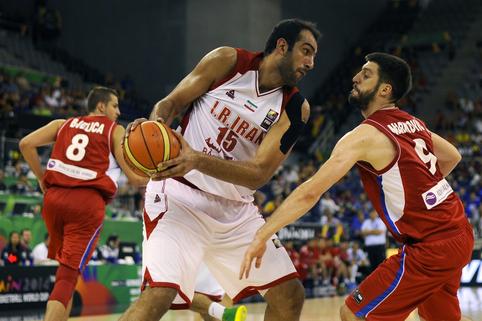 Buvęs NBA žaidėjas vedė Iraną į pergalę prieš Rusiją