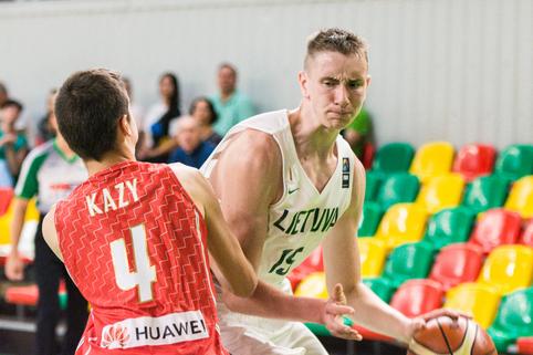 Lietuvos šešiolikmečių rinktinė išvyko į Europos čempionatą