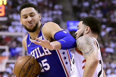 B.Simmonsas išrinko penkis geriausiai besiginančius NBA žaidėjus