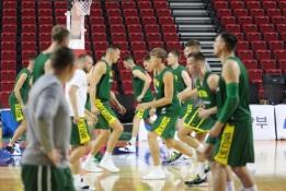 Lietuviai antroje rungtynių pusėje sutriuškino Pietų Korėjos krepšininkus