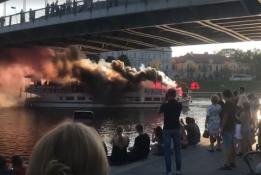"""Vilniaus miesto šventės metu - """"Ryto"""" fanų pasirodymas"""