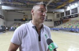 """Rungtynių patirtimi pasidžiaugęs Š. Jasikevičius: """"Pabaigoje pritrūko disciplinos"""""""
