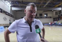 """Š.Jasikevičius: """"Norėtųsi, kad Zachas tokį žaidimą atsineštų į reguliarųjį sezoną"""" (VIDEO)"""