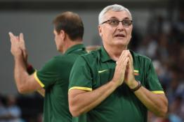 J.Kazlauskas į Lietuvos rinktinę negrįš