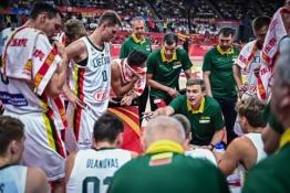 FIBA reitinge - Lietuvos rinktinės smuktelėjimas