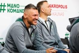 """2019.09.20 """"Žalgirio"""" ekipos pristatymas sirgaliams"""