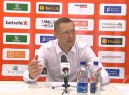 """Ž.Urbonas: """"Rungtynių pradžioje žaidėme lyg su karšta bulve"""""""