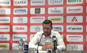 """G.Petrauskas: """"Stabilumo žaidime trūkumas kelia galvos skausmą"""""""