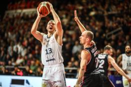 Geriausią sezono mačą sužaidęs O. Olisevičius – LKL savaitės MVP