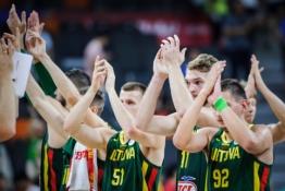 Lietuvos protestą atmetusi FIBA pripažino: R. Gobertas lanką lietė, teisėjai suklydo