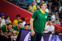 FIBA pašalino skandalingos spaudos konferencijos įrašą