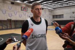 """E.Ulanovas: """"Baskonia"""" mėgsta greitą krepšinį"""