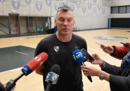 """Š. Jasikevičius prieš Eurolygos startą: """"Po šios savaitės daugiau galėsime spręsti apie save"""""""