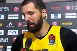 """N.Mirotičius: """"Džiaugiuosi sugrįžęs į Eurolygą"""""""