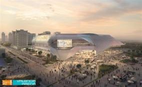 """""""Valencia"""" planuoja statyti itin brangią areną"""