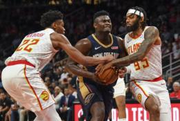 """Pelicans"" treneris paprašė nelyginti Z.Williamsono su L.Jamesu"