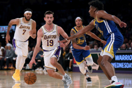 """""""Lakers"""" atleido legendinio J.Stocktono sūnų"""