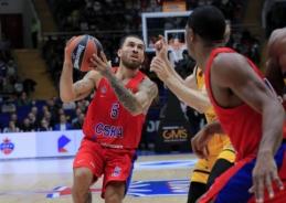 M. Jamesas grąžino CSKA į pergalių kelią