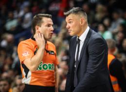 """Š.Jasikevičius: """"Gynyboje mums rungtynės nepavyko visiškai"""""""