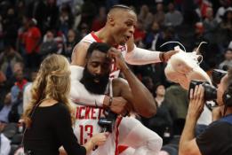 """Penkios priežastys, kodėl šiemet NBA triumfuos """"Rockets"""" ekipa"""