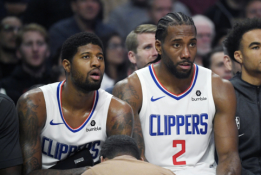 """Pasiūlymas """"Clippers"""": suformuokite didįjį trejetą"""