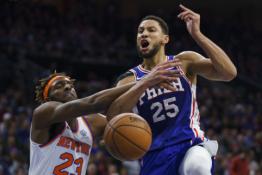 NBA TOP 10: Žibantis Dončičius, Simmonso tritaškis ir skrajojantis Leonardas