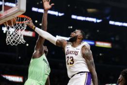 L.Jamesas užkariavo NBA epizodų dešimtuką