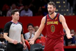 """""""Cavaliers"""" bando atsikratyti K.Love'u, bet susidūrė su pagrindine problema"""