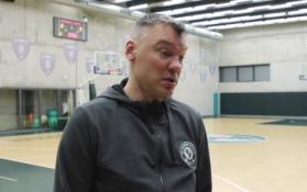 """Dar vieną žaidėją praradęs Š. Jasikevičius: """"Valencia"""" turi labai daug opcijų puolime"""""""