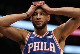 """B. Simmonsas nusprendė daugiau nebežaisti """"76ers"""" ekipoje"""