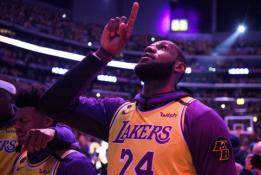 """Po emocingos K.Bryanto pagerbimo ceremonijos - """"Lakers"""" pralaimėjimas """"Blazers"""""""