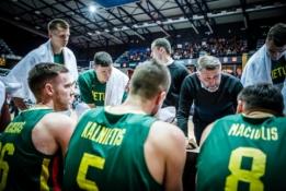 """D.Maskoliūnas atsargus: """"Šiais laikais visi moka žaisti krepšinį"""""""