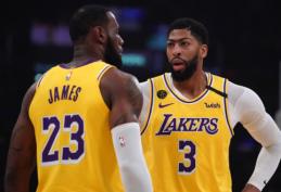 """Didžiajai daliai """"Lakers"""" komandos buvo atlikti koronaviruso testai"""