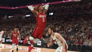 Išrinktas atletas, papuošiantis NBA 2K21 žaidimo viršelį