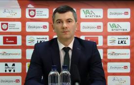 """N. Vasiljevas: """"Mums ši pergalė reiškia labai daug"""""""