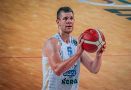 """MVP titulą laimėjęs T. Lekūnas: """"Kovą žaidėm prastai, todėl jausmas dvipusis"""""""