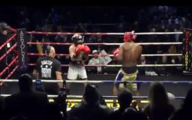 L. Odomas sėkmingai žengė į bokso ringą