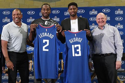 """D.Riversas atskleidė, kaip prisiviliojo K.Leonardą į """"Clippers"""""""