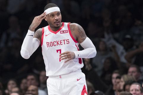 """C.Anthony sezonui ruošiasi su """"Nets"""" žaidėjais"""