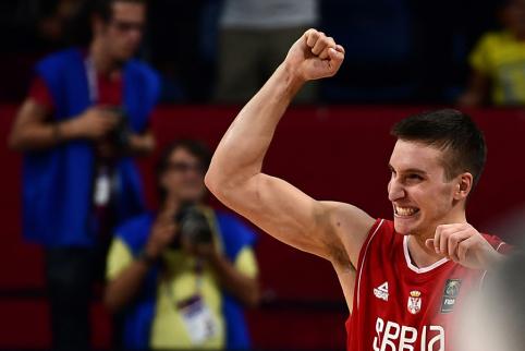 """""""Nuggets"""" nusitaikė į geriausią Serbijos metų žaidėją?"""