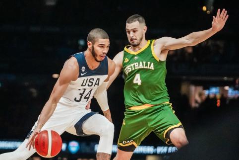 FIBA Tokijo žaidynių reitingas: JAV – vos trečioje vietoje