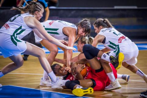 U-16 merginų rinktinė Europos čempionate patyrė pirmąją nesėkmę