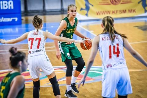 """Europą sužavėjusi 13-metė J.Jocytė žais """"Neptūno"""" moterų komandoje"""