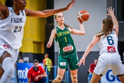 Pusę komandos taškų pelniusi J. Jocytė šešiolikmečių neišgelbėjo