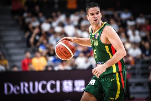 Televizorių ekranuose – Lietuvos vyrų krepšinio rinktinės treniruočių pobūdžio krepšinio rungtynės