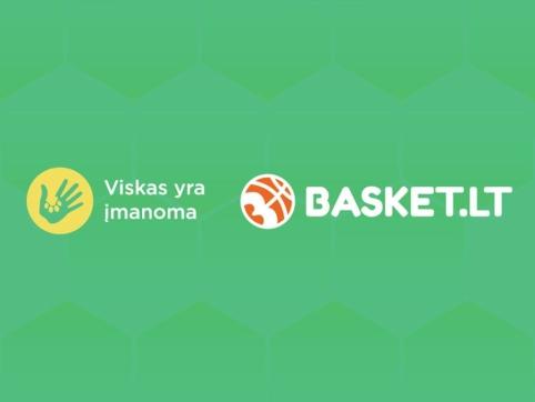 Basket.LT partneriai organizuoja akciją beglobiams gyvūnams