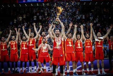 Be intrigos: argentiniečius sutriuškinę ispanai – pasaulio čempionai